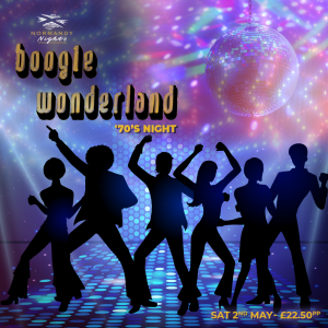 70's Boogie Night Live Tribute Night at The Normandy Hotel, Saturday 2nd of May 2020, £22.50 per person