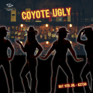 Coyote Ugly Country Show Tribute Night at the Normandy Hotel, 11th of July 2020, £27.50 per person