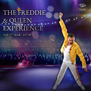 Queen Tribute Night at The Normandy Hotel, 7th of March 2020, £17.50 per person