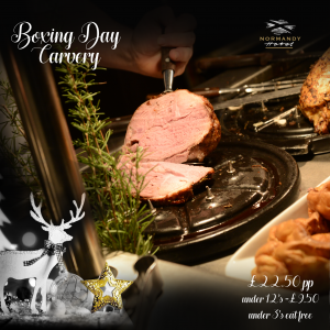 Boxing Day Carvey 2019 at The Normandy Hotel