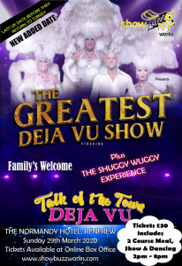 The Greatest Deja Vu Show at The Normandy Hotel